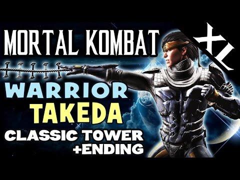MK XL. LASHER TAKEDA (Warrior). Klassic Tower and story ending! (Full HD 1080p)