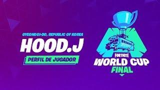 Fortnite World Cup - Perfil de jugador - Hood.J