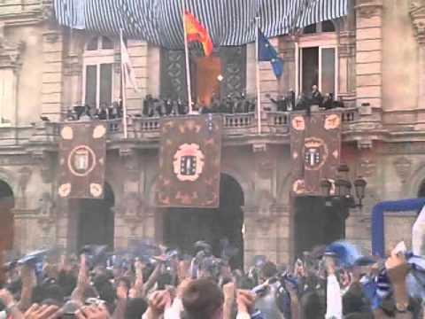 Dépor Celebración Ascenso 2012 en María Pita
