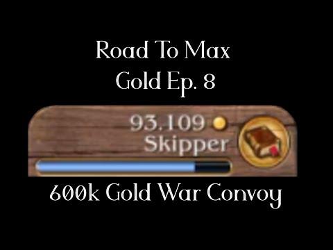 [Timelapse] 600K Gold War Convoy -  Road to Max Gold - Port Royale 3 Ep8 |