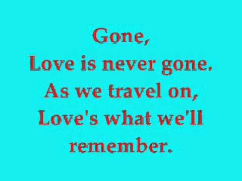 What I Did For Love - Glee - Lyrics