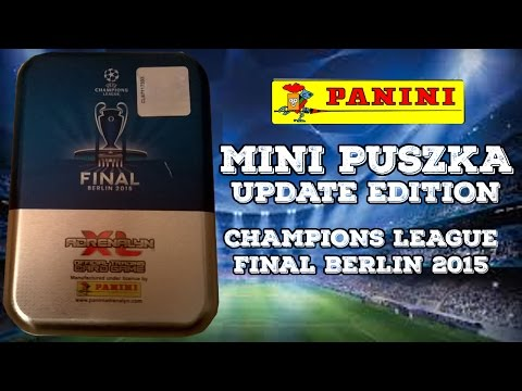 █▬█ █ ▀█▀ - MINI PUSZKA ☆ UPDATE EDITION CHAMPIONS LEAGUE ☆ FINAL BERLIN 2015 ☆ COLLECTOR TIN