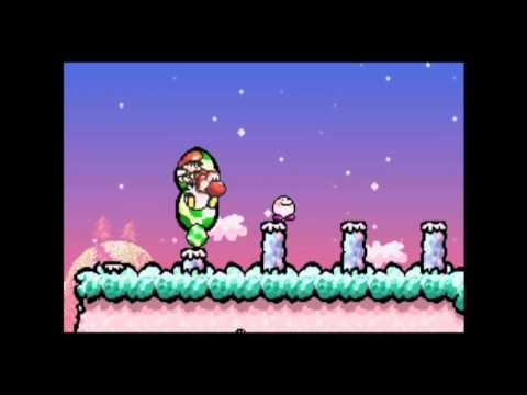 Mario Advance 3: Yoshi's Island part 5 100% Run (Wii U VC)