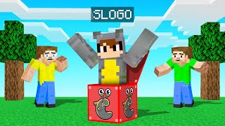 We Found SLOGO LUCKY BLOCKS In Minecraft!