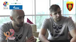 Timur Dibirov and Sergei Gorbok Interview on Qatar 2015