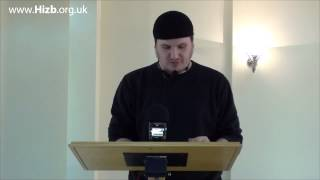 Jamal Ford - Spoken word poetry - Ramadhan Ijtima 2013