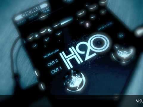 visual sound h2o v2 liquid chorus echo delay effects pedal karnivool new day youtube. Black Bedroom Furniture Sets. Home Design Ideas