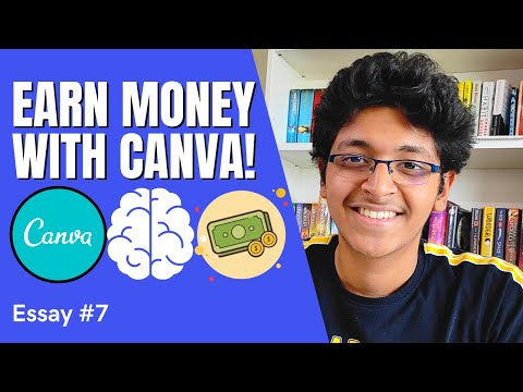 How to Make Money with Canva Online | Easy Skill to Learn | Ishan Sharma Hindi