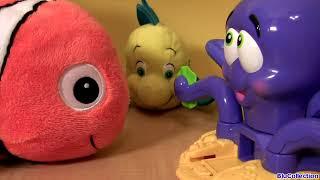 PLAY DOH Octopus Playset Disney Nemo Dory Flounder Sebastian Ocean Animals Ośmiornica Play Dough thumbnail