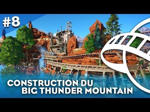 CONSTRUISONS LE BIG THUNDER MOUNTAIN ! - Planet Coaster #8 - HD