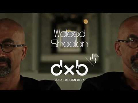 Dubai Design Week Portraits: Waleed Shaalan, architect