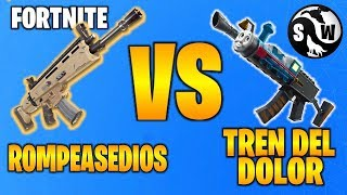 #FORTNITE ++ROMPEASEDES VS TRAIN OF PAIN++ SAVING THE WORLD