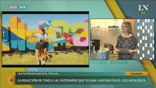 Lollapalooza: La Mona Jiménez, la gran sorpresa del Line up - +INFO por LN+
