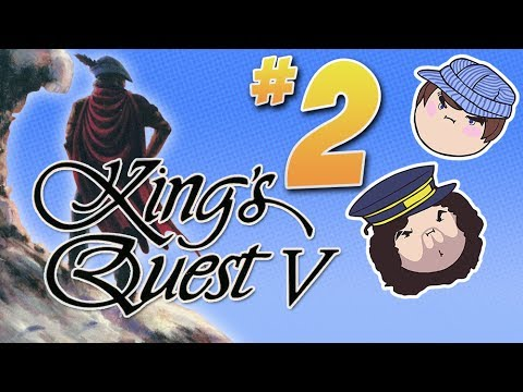 King's Quest V: People Got Problems - PART 2 - Steam Train