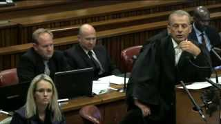 Repeat youtube video Oscar Pistorius Trial: Thursday 10 April 2014, Session 3
