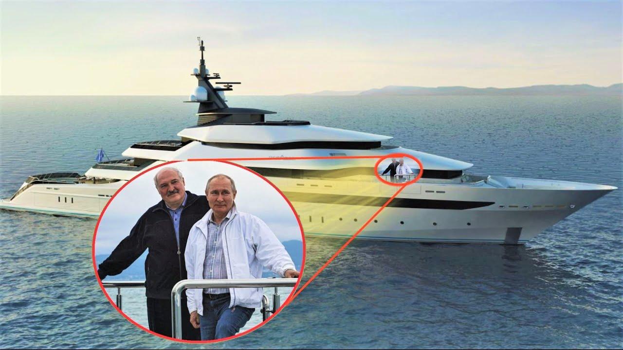 Лучшие Яхты Путина - Место тайных встреч и переговоров