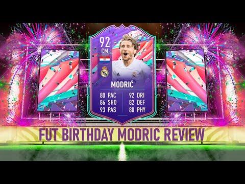 FIFA 21 FUT BIRTHDAY MODRIC (92) PLAYER REVIEW