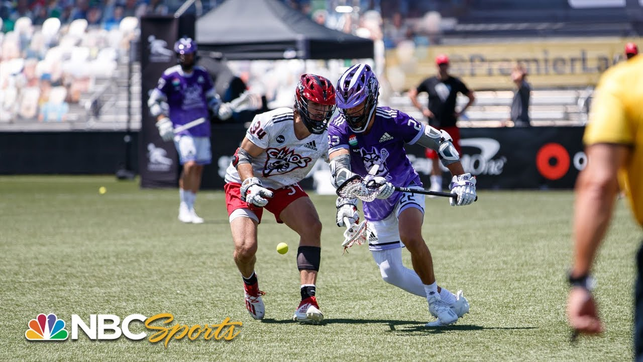 Premier Lacrosse League: Waterdogs vs. Chaos | EXTENDED HIGHLIGHTS | 08/01/20 | NBC Sports