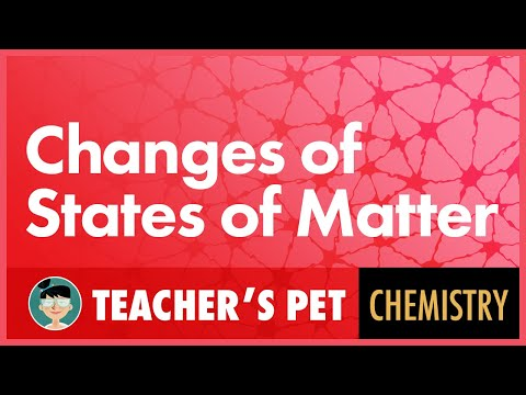 Changes of States of Matter