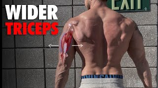 The ONLY 3 Tricep Exercises You Need For WIDER TRICEPS! (FIX SKINNY TRICEPS!)