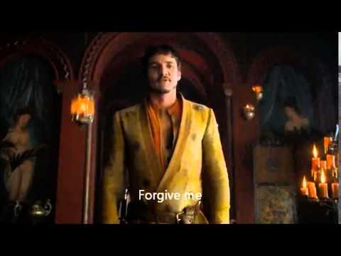 "Oberyn Martell says ""forgive me"""