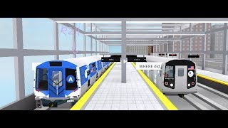 Roblox: Subway Testing, Chasing The R211
