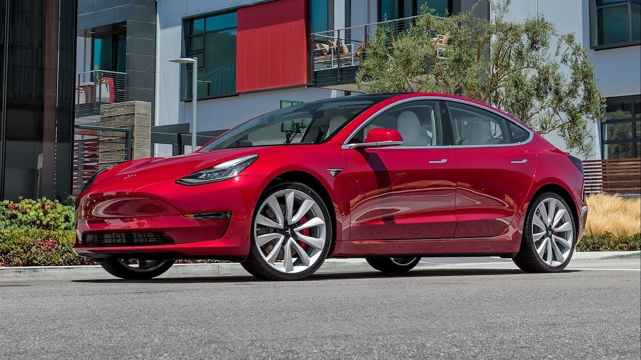 Tesla Model 3 2019 Car Review - YouTube