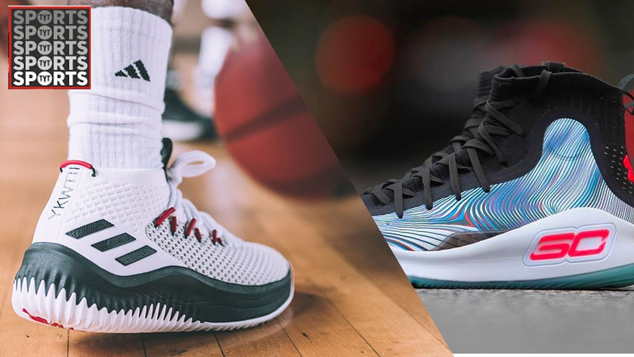 Better Shoe  Damian Lillard 4 or Steph Curry 4  - YouTube b79047a01