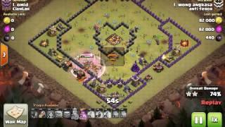 Serangan epic th 10 war pemula by clan anti teror