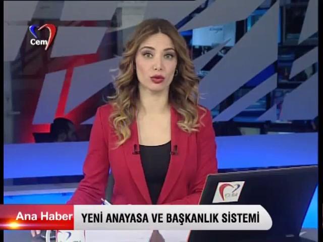 Cem Tv  Ana Haber  08 01 2016