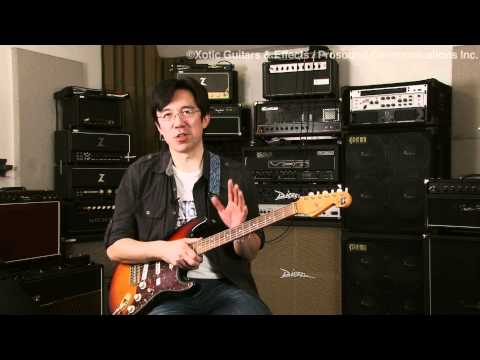 "Interview with Tomo Fujita ""Products of Xotic Effects"""