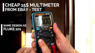 Cheap multimeter - (Fluke copy)  ANENG AN8001 (RM 101 )(, 2016-12-31T10:57:44.000Z)