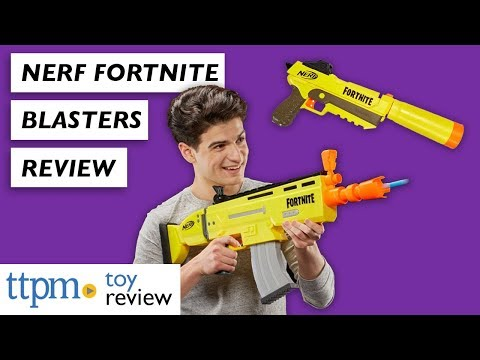 Nerf Fortnite AR-L And SP-L Blasters From Hasbro