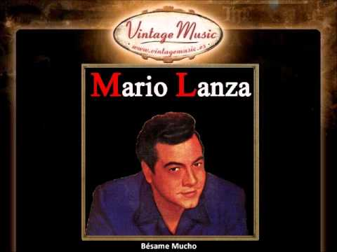 Mario Lanza - Bésame Mucho (VintageMusic.es)