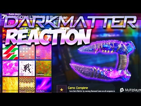 DARK MATTER LIVE REACTION!!! - BLACK OPS 3 RARE WEAPONS GAMEPLAY