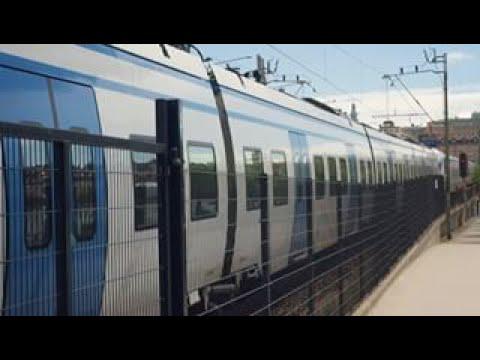 Stockholm Commuter Train - Sweden