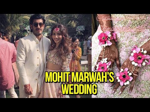 Mohit Marwah's Mehendi : Arjun Kapoor's Dance, Sridevi  Inside Pics and Videos  Wedding 2018