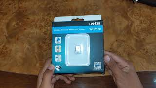 Netis WF2120 150mbps Wireless N USB Adapter Unboxing + full review