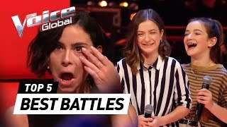 BEST BATTLES in The Voice Kids around the world