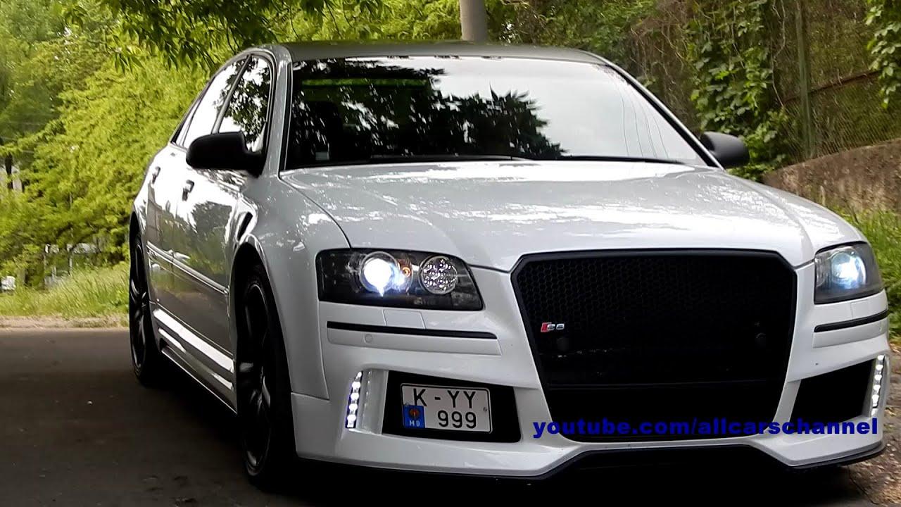 Audi S8 D3. Loud acceleration sound - YouTube