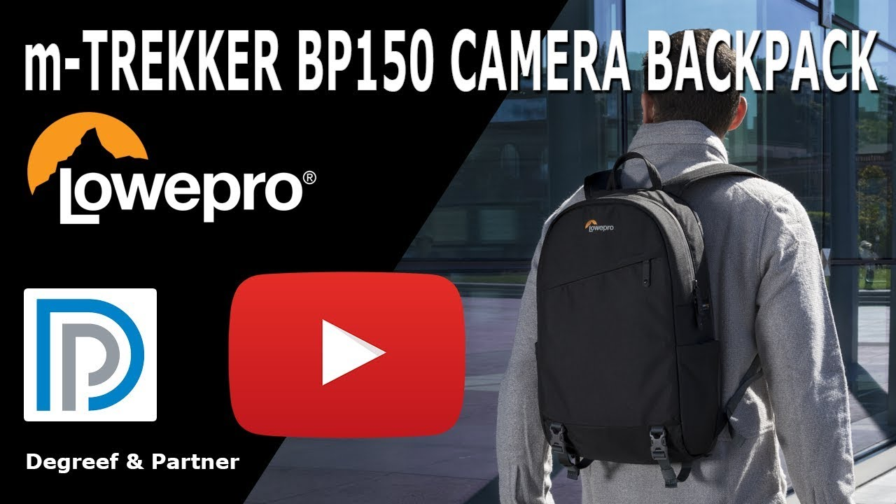 16e371c60c0 Lowepro m-Trekker BP150 - Looking for a modern and safe camera backpack?