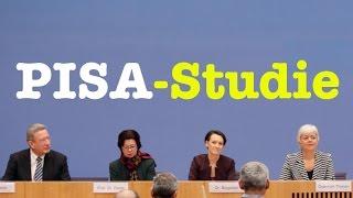 Vorstellung der PISA-Studie 2015 - Komplette Bundespressekonferenz vom 6. Dezember 2016