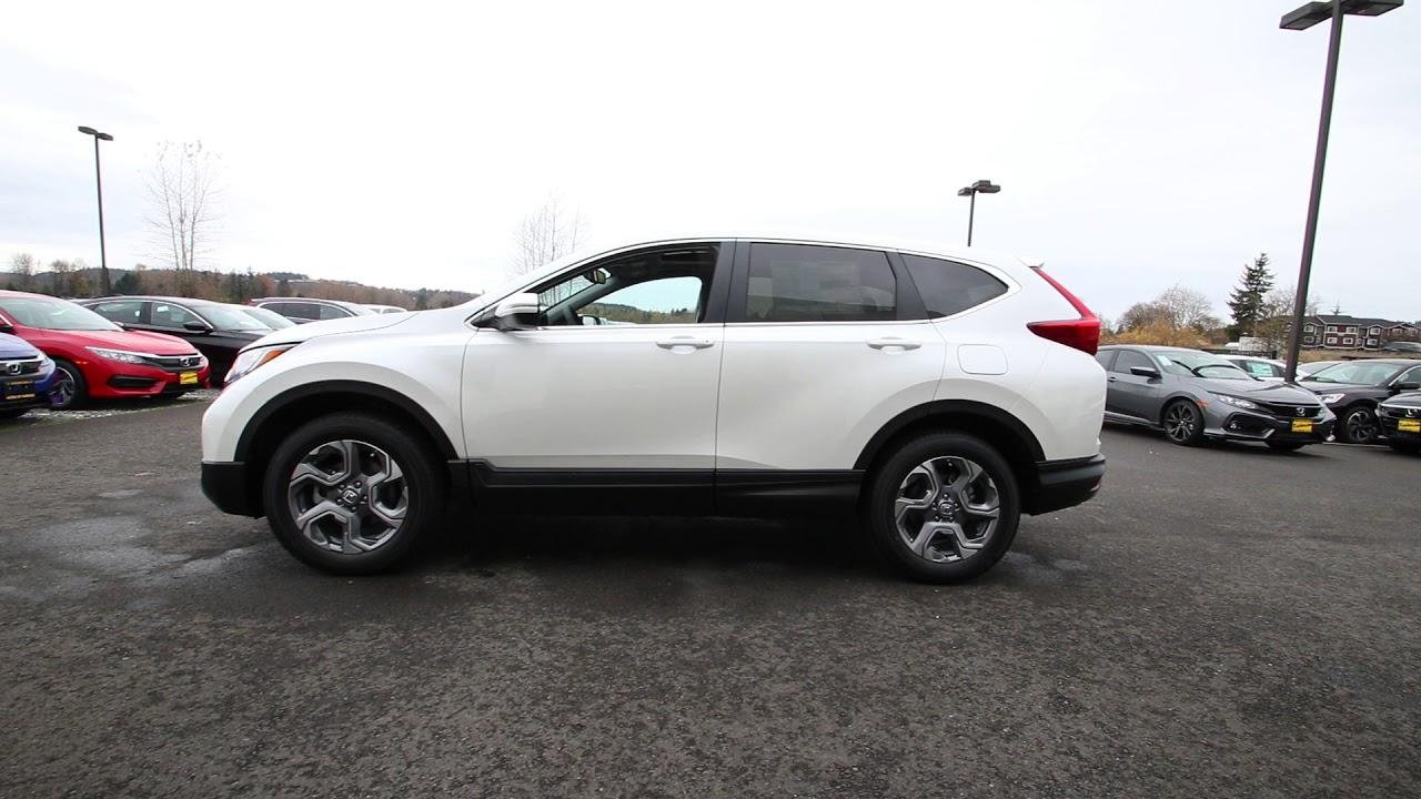 Download 2018 Honda CR-V EX-L   White Diamond Pearl   JH607694   Seattle   Sumner  