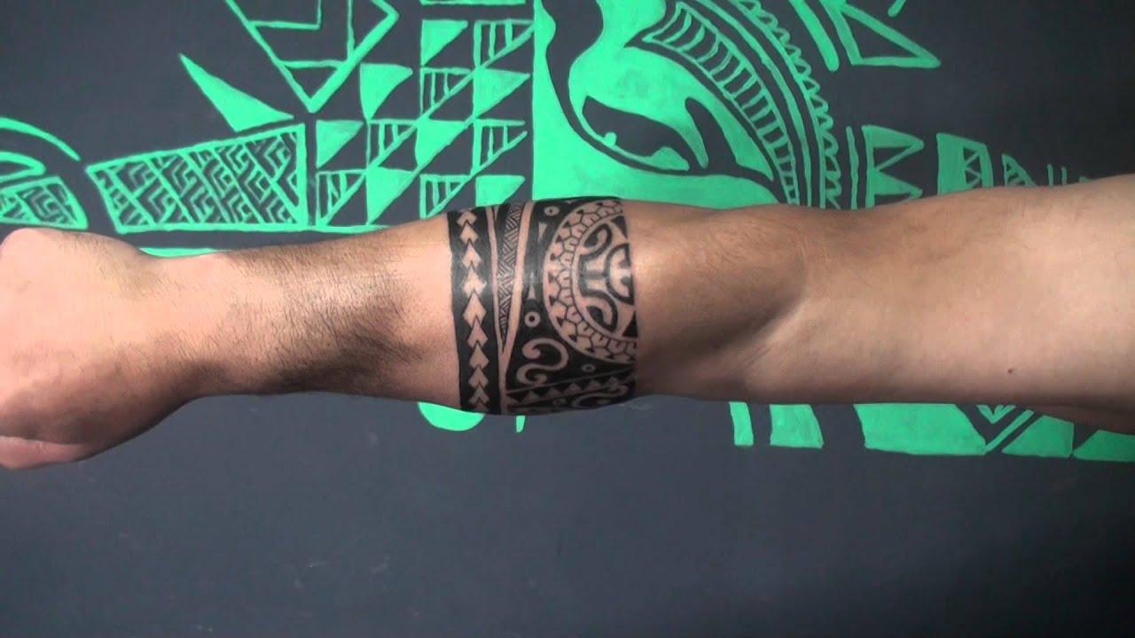 Tattoo Rosa Parte En Tribal Estilo Maori Tattoo 3d By Karl