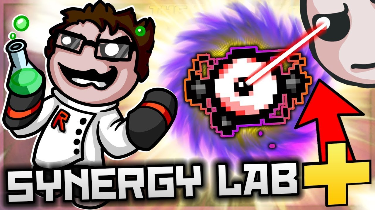 The Binding of Isaac: Afterbirth+ - Synergy Lab Special: LAB UPGRADES = TOTAL SUN NOVA! (So Good)