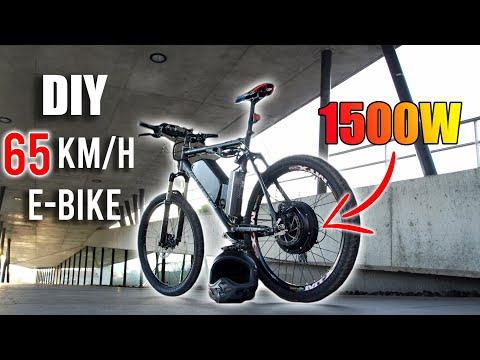 DIY Electric Bike 65km/h Using 1500W E-Bike Conversion Kit thumbnail