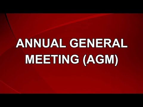Annual General  Meeting (AGM), Production by Jui Corporate P