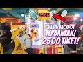 WOW!! MONSTER JACKPOT TICKET!! 2500 TIKET SEKALI MENANG!!