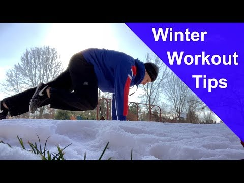 5 Tips for Outdoor Calisthenics Workouts in Winter