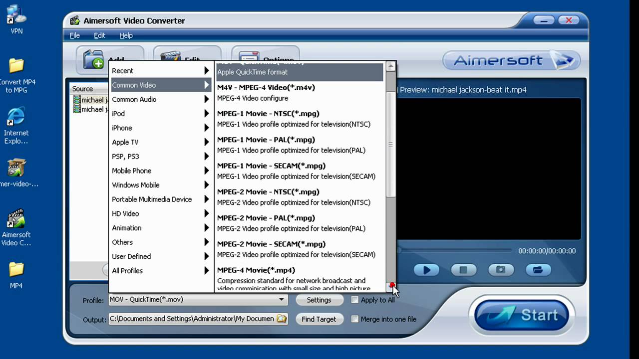 Convert Mp4 To Mpg Youtube